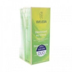 Weleda Déodorant au Citrus Lot de 2 x 100ml