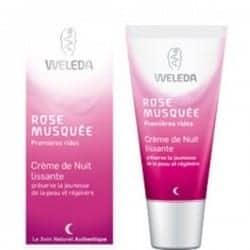 Weleda Rose Musquée Crème de Nuit Lissante 30ml