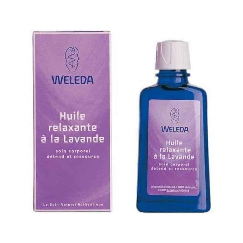 Weleda Huile Relaxante A La Lavande 100ml