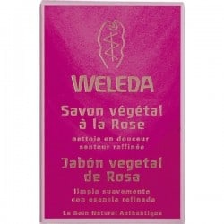 Weleda Savon Végétal à la Rose