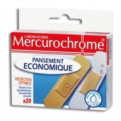 Mercurochrome Pansements...
