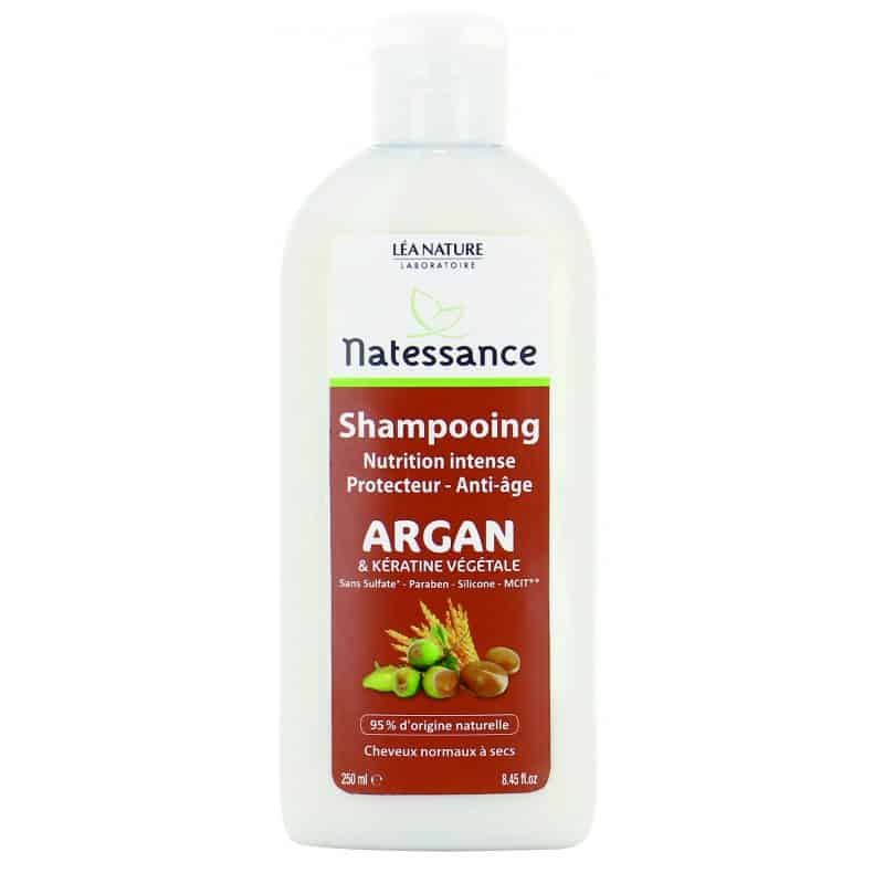Natessance Shampooing Nutrition Argan Keratine 250ml