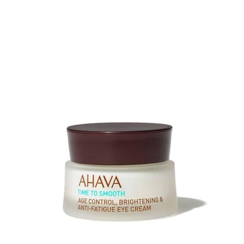 Ahava  Time To Smooth Crème Contour Des yeux Anti-âge 15ml