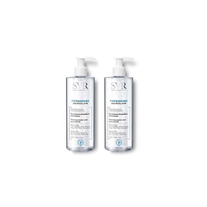 SVR Physiopure Eau Micellaire duo 2x400ml