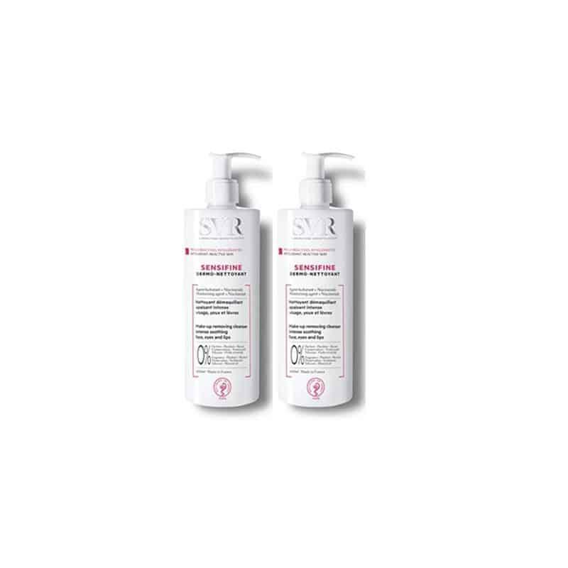 SVR Sensifine Dermo-Nettoyant duo 2x400ml