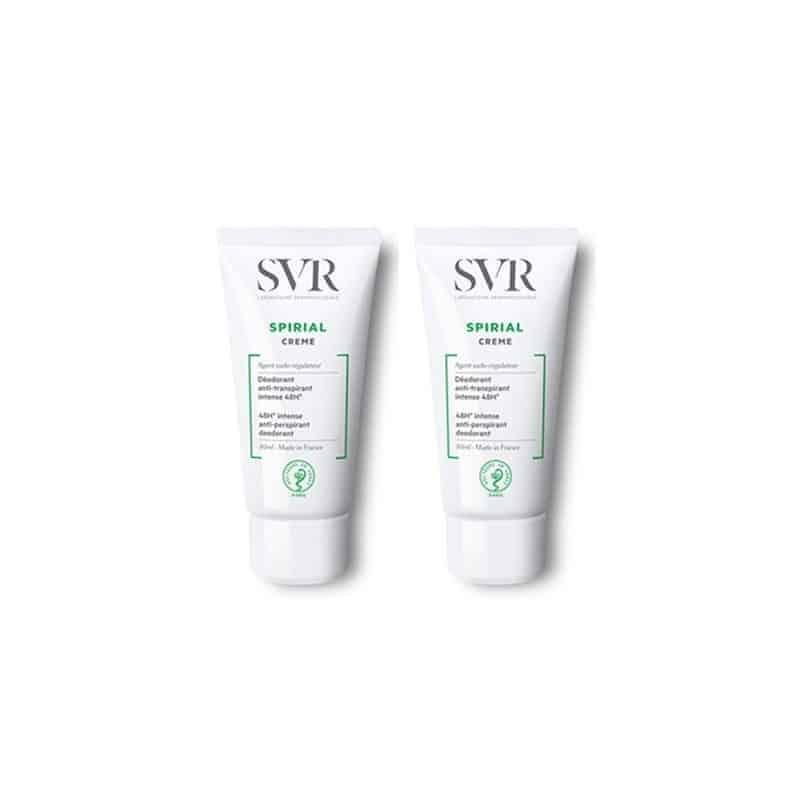SVR Spirial Déodorant Crème Duo 2x50ml