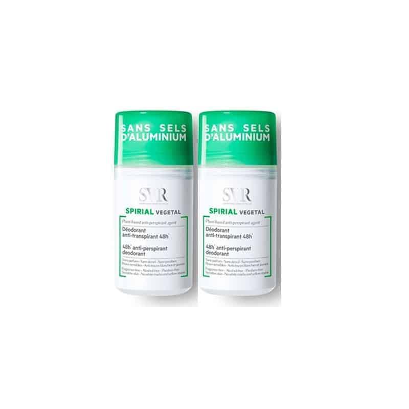 SVR Spirial Déodorant végétal Duo 2x50ml