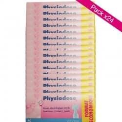 Physiodose Sérum Physiologique Lot de 24 boîtes de 40 unidoses