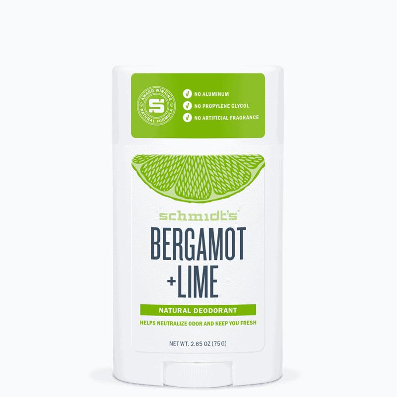 Schmidt's Déodorant Stick Bergamote Citron vert 75g