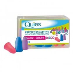 Quies Protection Auditive Mousse Disco 3 Paires