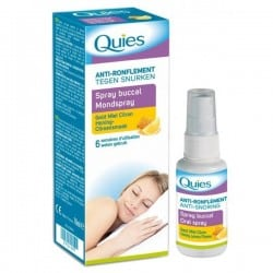 Quies Anti-Ronflement Spray Buccal Goût Miel/Citron 70ml