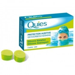 Quies Protection Auditive Silicone Spécial Natation 3 Paires