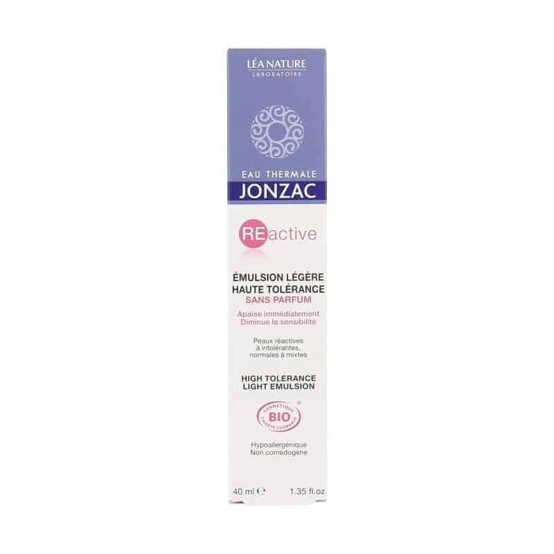 Jonzac Reactive Emulsion Légère Haute Tolérance 40ml