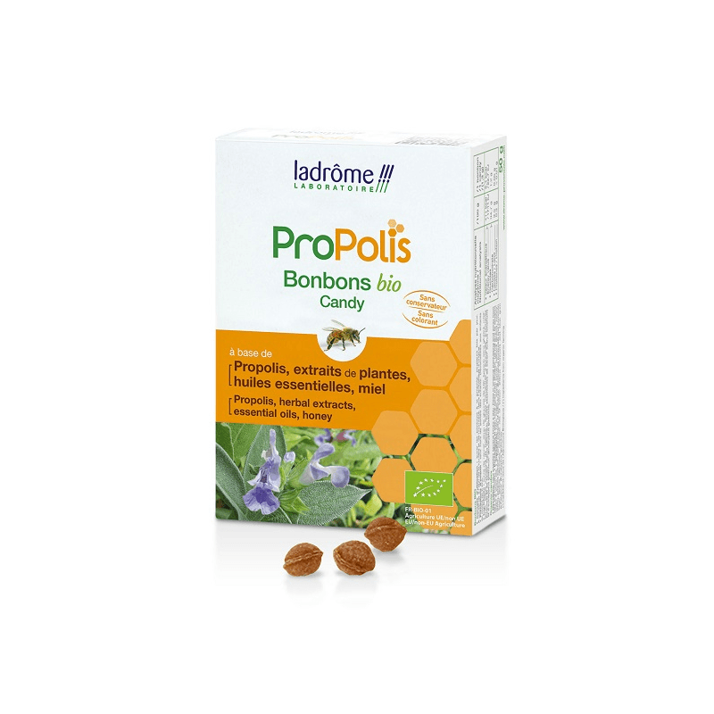 Ladrôme Propolis Bonbons Bio à la Propolis 50g