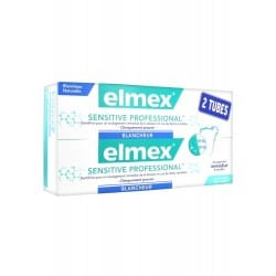 Elmex Sensitive Professional Dentifrice Blancheur Duo 2x75ml