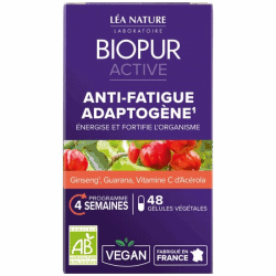 Biopur Active Anti-fatigue Adaptogène 48 gélules