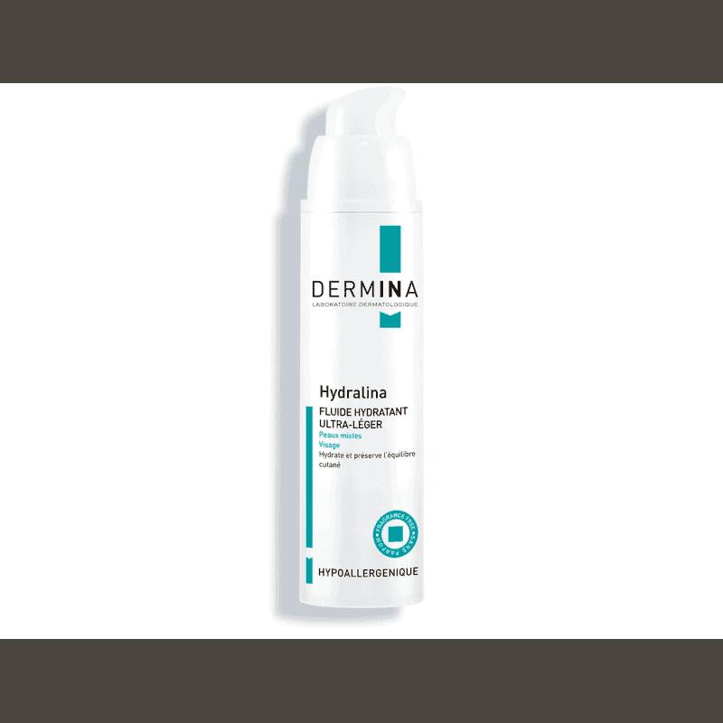 Dermina Hydralina Fluide Hydratant 50ml