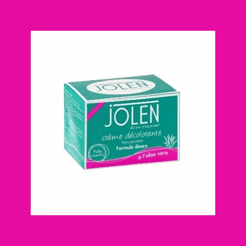 Jolen Crème décolorante Formule Douce Aloe Vera 30ml