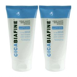 Cicabiafine Crème Mains Réparation Intense Lot de 2 x 75ml