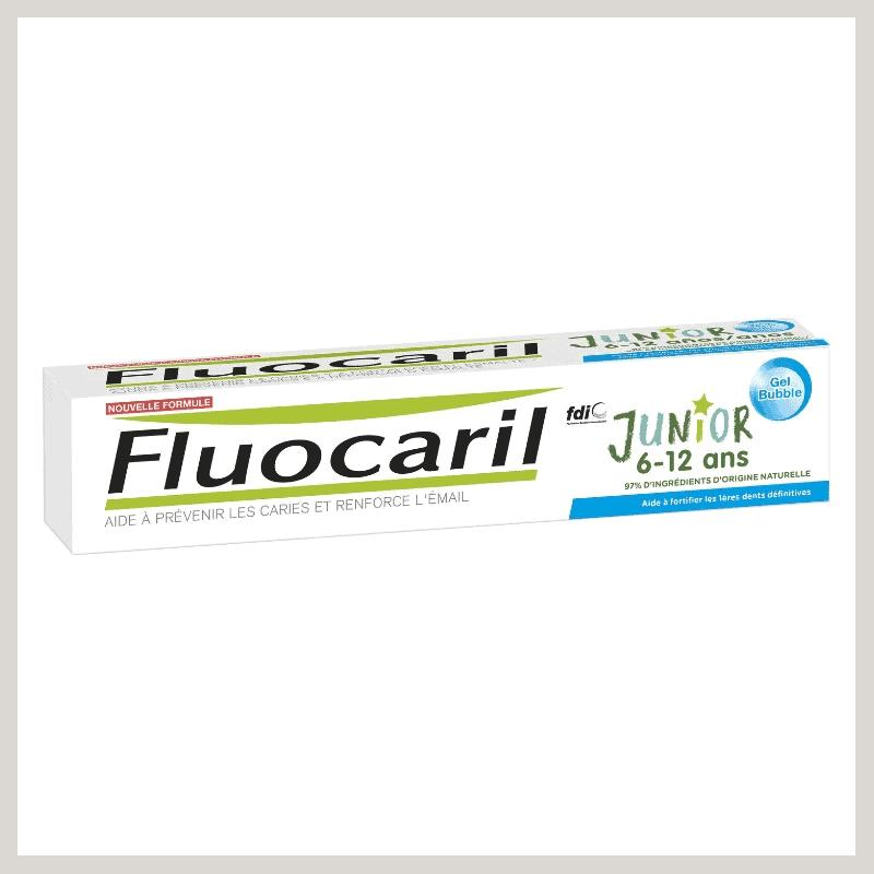 Fluocaril Dentifrice Junior Gel Bubble Gum 145mg 75ml