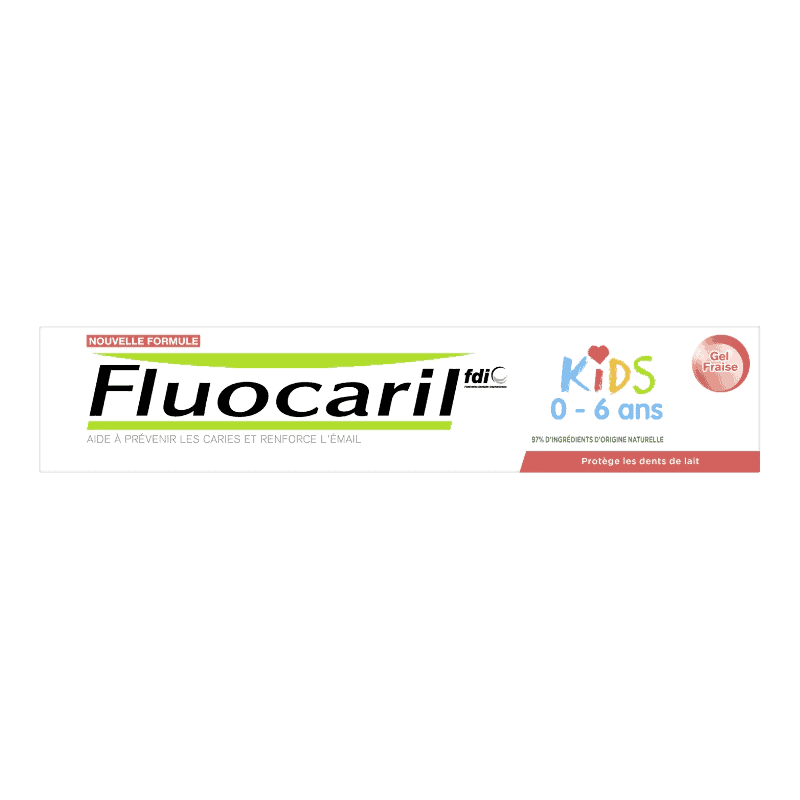 Fluocaril Dentifrice Kids Gel Fraise 50ml
