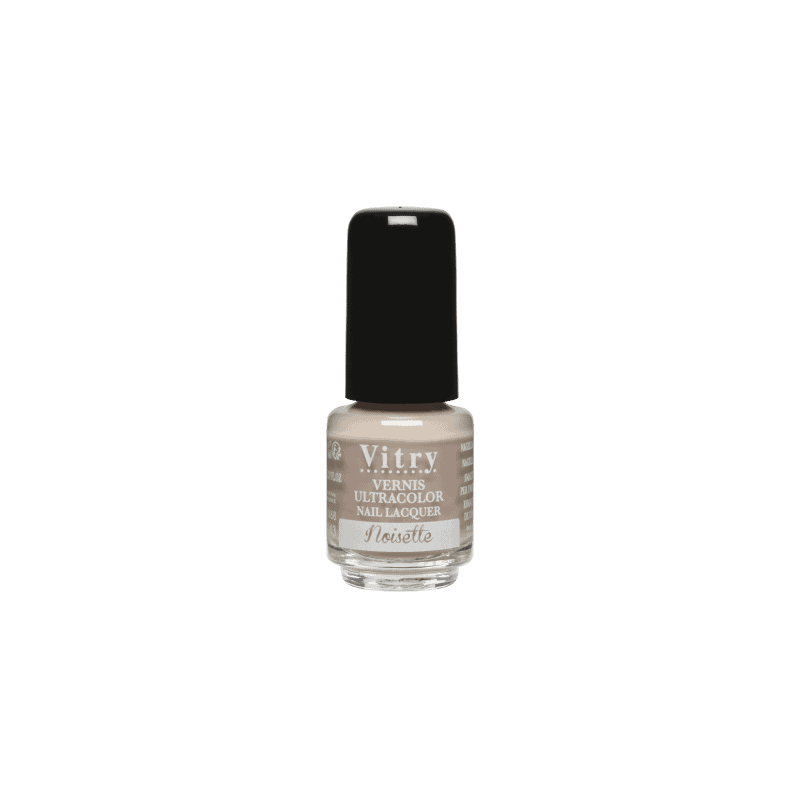 Vitry Vernis à Ongles Noisette 4ml