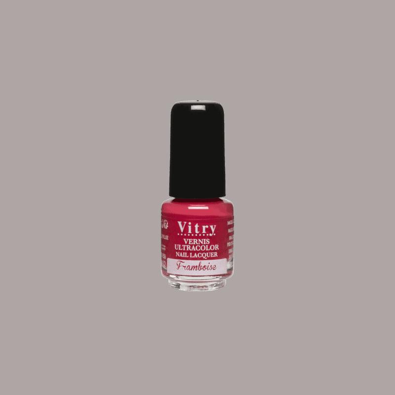 Vitry Vernis à Ongles Framboise 4ml