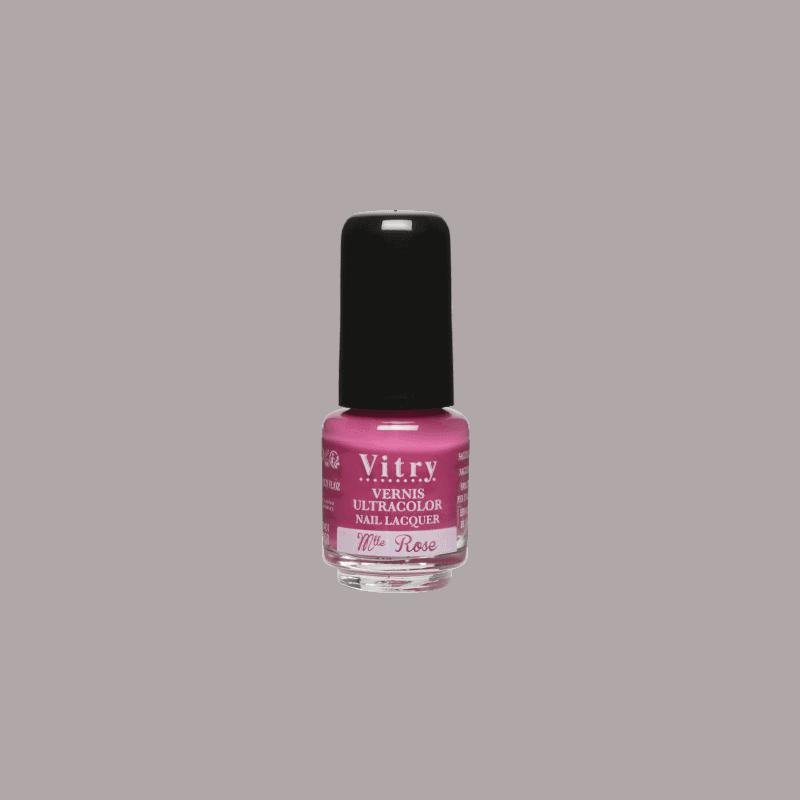 Vitry Vernis à Ongles Mademoiselle rose 4ml