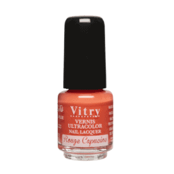 Vitry Vernis à Ongles Rouge capucine 4ml