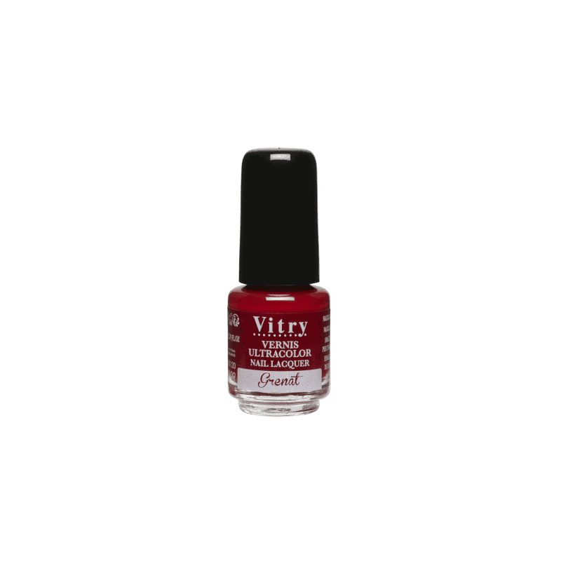 Vitry Vernis à Ongles Grenat 4ml