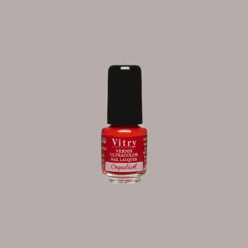 Vitry Vernis à Ongles Coquelicot 4ml