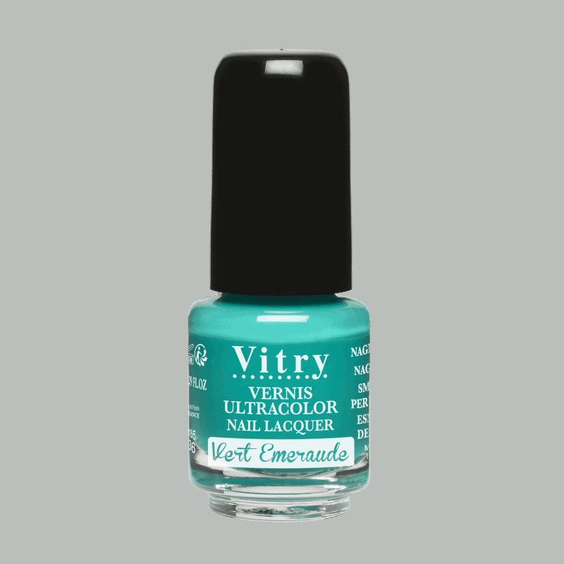 Vitry Vernis à Ongles Vert emeraude 4ml