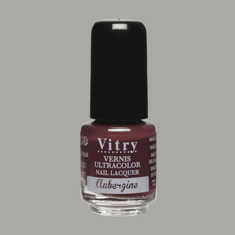 Vitry Vernis à Ongles Aubergine 4ml