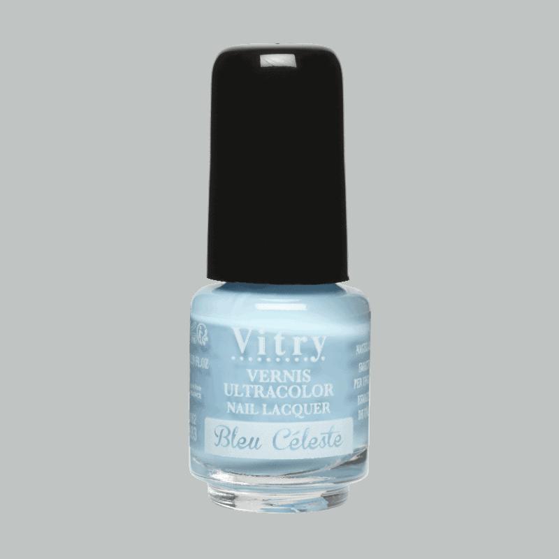 Vitry Vernis à Ongles Bleu céleste 4ml