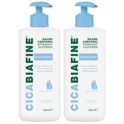 Cicabiafine Baume Corporel Hydratant Quotidien Duo 2x400ml