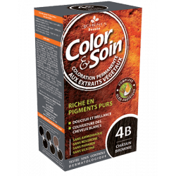 Color&soin Coloration Châtain Brownie 4B