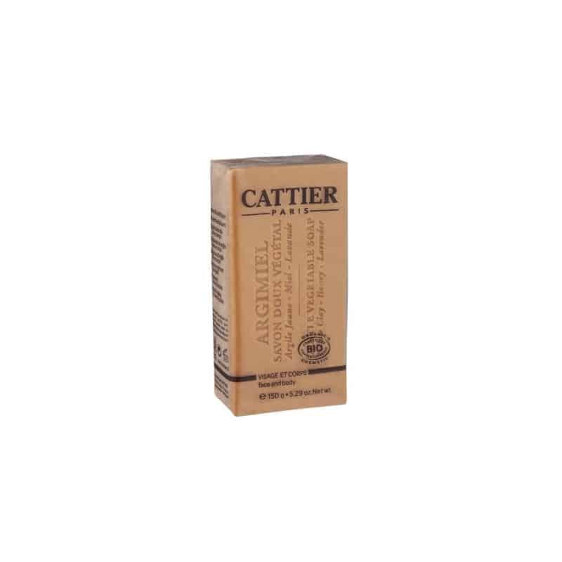 Cattier Savon Doux végétal Argimel Bio 150g