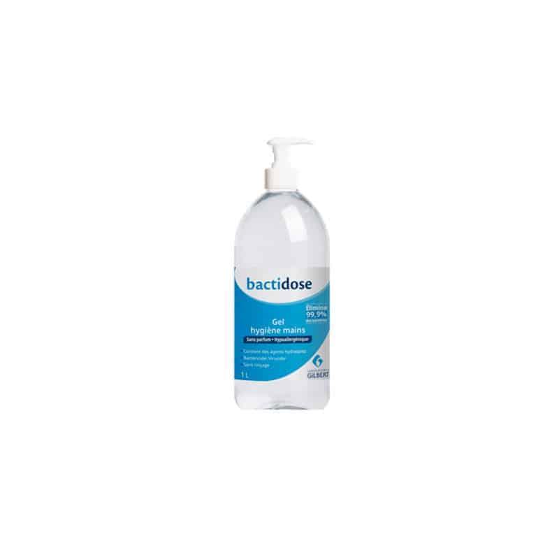 Bactidose Gel Hydroalcoolique Sans Parfum 1L