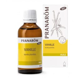 Pranarom Huile Végétale de Vanille 50ml