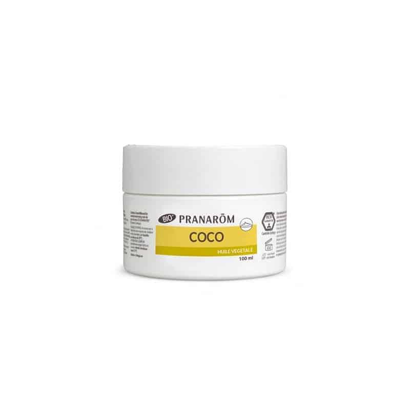 Pranarom Huile Végétale Bio de Coco Pot de 100ml