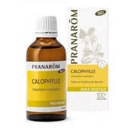 Pranarom Huile Végétale Bio de Calophylle 50ml