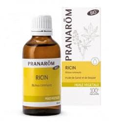 Pranarom Huile végétale Bio de Ricin 50ml