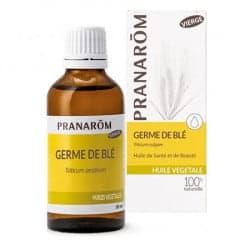 Pranarom Huile Végétale Bio de Germe de Blé 50ml