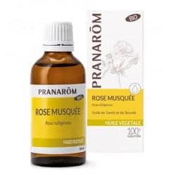 Pranarom Huile Végétale Bio de Rose Musquée 50ml