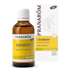 Pranarom Huile Végétale Bio de Cranberry 50ml