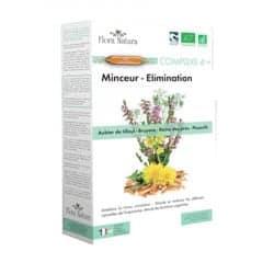 Flora Natura Complexe 4+ Minceur Elimination 20 Ampoules de 15ml