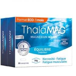 Thalamag Equilibre Magnésium Marin Duo 2x30 comprimés