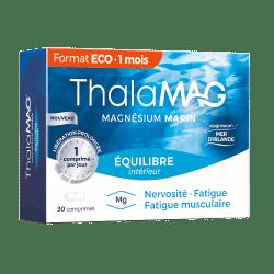Thalamag Equilibre Magnésium Marin Libération Prolongée 30 comprimés