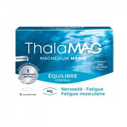 Thalamag Equilibre Magnésium Marin Libération Prolongée 15 comprimés