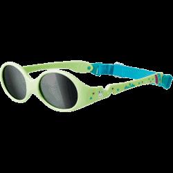 Luc et Léa lunette de soleil Verte 0-1 an